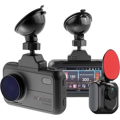 Видеорегистратор ROADGID PREMIER 2CH SUPER HD с камерой заднего вида - фото 15004