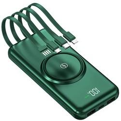 Внешний аккумулятор MOBILE POWER BANK 20000 mA (зеленый)