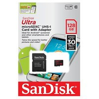 MicroSD 128GB SanDisk Class10 Ultra UHS-I 30Mb/s
