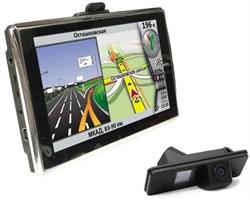 Навигатор GlobusGPS GL-500 AV с камерой заднего вида