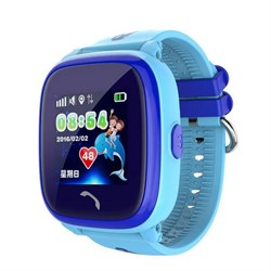 Умные часы Smart Kid Watch DF25G GPS+ Blue
