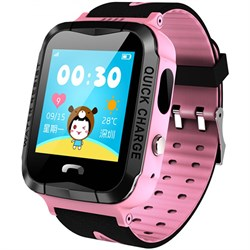 Умные часы Smart Kid Watch V6G Pink IP67