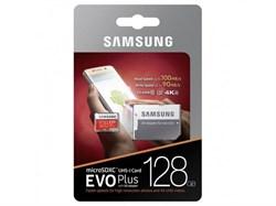 MicroSDXC 128GB Samsung Class10 U3 Ultra UHS-I EVO Plus 100MB/s