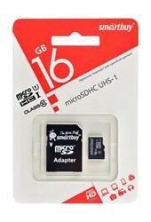 MicroSDHC 16GB SmartBuy, Class10