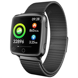 Фитнес-браслет Smart Bracelet BL89 Black