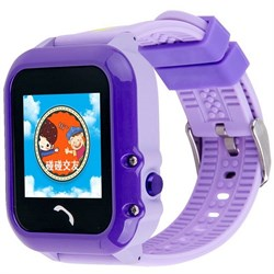 Умные часы Smart Kid Watch DF27 Purple IP67