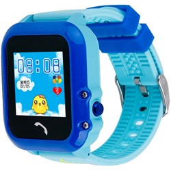 Умные часы Smart Kid Watch DF27 Blue IP67